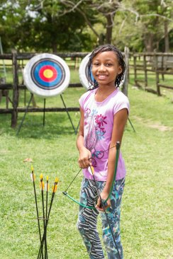 Nia Bow and Arrow
