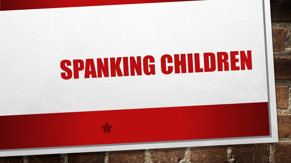 'There is a place for spanking' – Dr. Barry Davidson